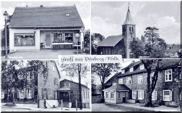 Ansichtskarte aus den 1960er Jahren zur Verfügung gestellt von Wolfgang Nicke