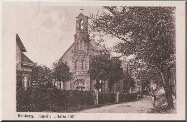 Dönberger Kapelle Maria Hilf zur Verfügung gestellt von Wolfgang Nicke