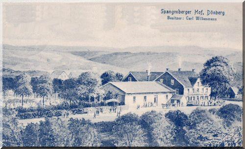 Spangenberger Hof, ca. 1939 zur Verfügung gestellt von Wolfgang Nicke