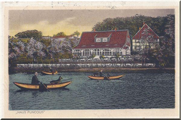 Haus Funccius, Dönberger Gondelteich Kaffee-Restauration, ca. 1920er Jahre zur Verfügung gestellt von Hans-Joachim Lüppken