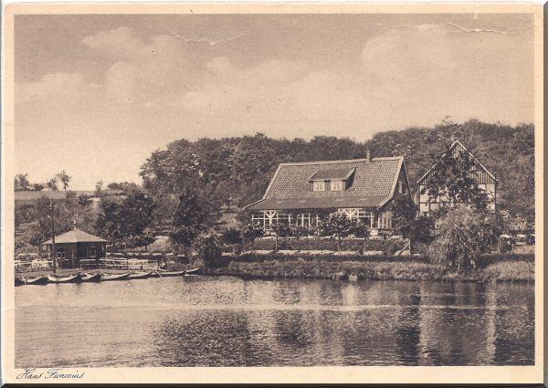 Haus Funccius, Dönberger Gondelteich ca. 1931 zur Verfügung gestellt von Kurt Lembeck