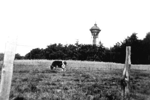 Dönberger Wasserturm, ca. 1938 zur Verfügung gestellt von Jürgen Landgrebe